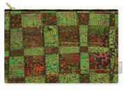 Checkoff Abstract Pattern Carry-all Pouch