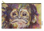Cheeky Lil' Monkey Carry-all Pouch