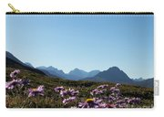 Cheerful Alpine Daisy Meadows Carry-all Pouch