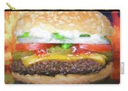 Cheeseburger Deluxe Carry-all Pouch