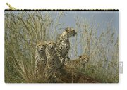 Cheetah Family Carry-all Pouch
