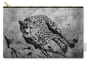 Cheetah Hunting Deer  Carry-all Pouch