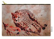 Cheetah Hunting Carry-all Pouch