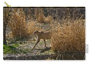 Cheetah  In The Brush Carry-all Pouch