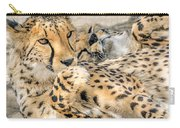 Cheetah Lounge Cats Carry-all Pouch