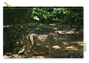 Cheetah On The In The Forest 2 Carry-all Pouch