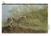 Cheetah On The Prowl Carry-all Pouch