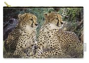 Cheetah Pair Carry-all Pouch
