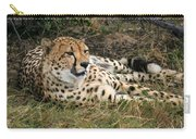 Cheetah Portrait Carry-all Pouch