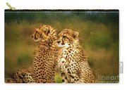 Cheetah Siblings Carry-all Pouch