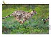Cheetahs Acinonyx Jubatus Hunting Carry-all Pouch