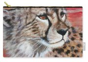 Blaa Kattproduksjoner       Cheetahs Face Carry-all Pouch