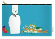 Chef Snowman Carry-all Pouch