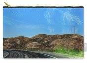 Chem Trails Valley Of Fire  Carry-all Pouch