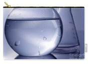 Chemistry Beakers Blue Carry-all Pouch