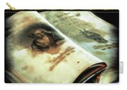 Cherished Old Book Carry-all Pouch