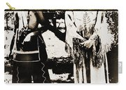 Cherokee Indian Couple Carry-all Pouch