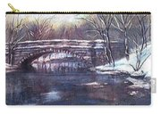Cherokee Park Bridge Carry-all Pouch