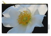 Cherokee Rose On Black Carry-all Pouch