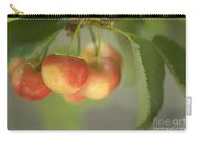 Cherries Hanging On A Branch Carry-all Pouch