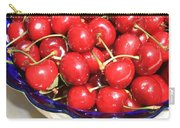 Cherries In A Bowl Close-up Carry-all Pouch