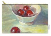 Cherries In A Cup On A Sunny Day Painting Carry-all Pouch