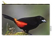 Cherrie's Tanager Carry-all Pouch by Heiko Koehrer-Wagner