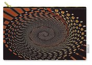 Cherry Basket Weaving Abstract Carry-all Pouch