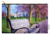 Cherry Blossom Bench Carry-all Pouch
