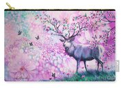 Cherry Blossom Deer Carry-all Pouch