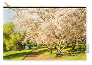 Cherry Blossom Lane Carry-all Pouch