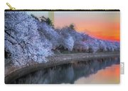 Cherry Blossom Sunrise Carry-all Pouch