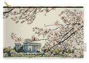 Cherry Blossom Tidalbasin View Carry-all Pouch