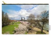 Cherry Blossom Trees At Portland Waterfront Carry-all Pouch