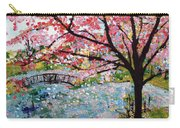 Cherry Blossoms And Bridge 3 201730 Carry-all Pouch