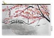 Cherry Blossoms And Bridge II Meadowlark Botanic Gardens 201729  Carry-all Pouch
