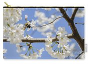 Cherry Blossoms And Bumblebee Carry-all Pouch