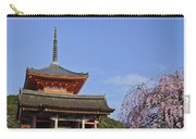 Cherry Blossoms And Kiyomizu-dera Carry-all Pouch