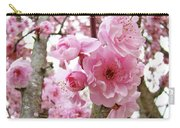 Cherry Blossoms Art Prints 12 Cherry Tree Blossoms Artwork Nature Art Spring Carry-all Pouch