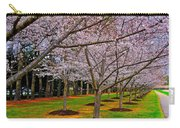 Cherry Blossoms At The Beach Carry-all Pouch