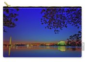 Cherry Blossoms Sunrise Carry-all Pouch
