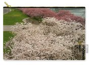 Cherry Blossoms Trees Along Portland Waterfront Carry-all Pouch