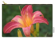 Cherry Cheeks Daylily Carry-all Pouch
