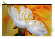 Cherry Flower In The Spring, In Profile Carry-all Pouch