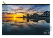 Cherry Grove Beach Front Sunset Carry-all Pouch