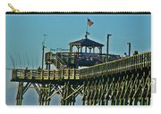 Cherry Grove Pier - Closeup End Of Pier Carry-all Pouch
