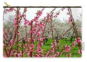Cherry 'n' Apple Blossoms Carry-all Pouch