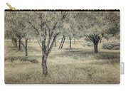 Cherry Orchard In Infrared Carry-all Pouch