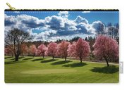 Cherry Tree Bloom Color Carry-all Pouch