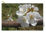 Cherry Tree Blossom White Flower Carry-all Pouch